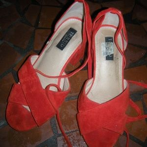 Torrid collection size 9 wide shoes heels